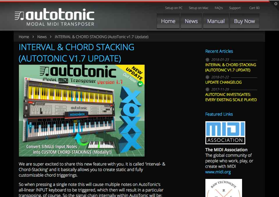 The FREE AutoTonic Player